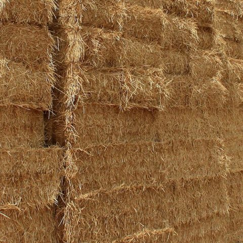 Hay for sale, including lucerne bales